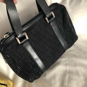 Fendi Zucca Mini Boston Bag VINTAGE